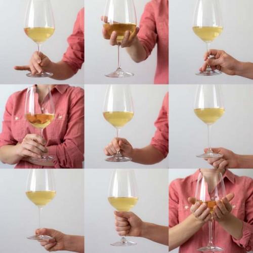 איך להחזיק כוס יין 2