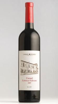כרמל - יין הדגל -  Carmel Limited Edition 2007