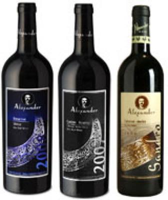 יקב אלכסנדר – שלושה יינות לראש השנה