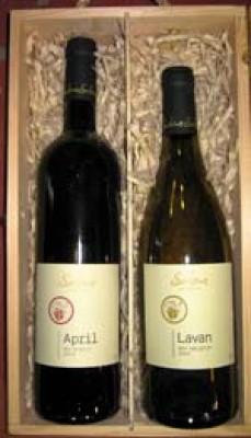 ססלוב- יינות כשרים APRIL ו LAVAN