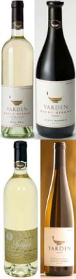 רמת הגולן - יינות מבציר 2011