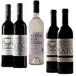 שלושה יינות מיקב אדיר